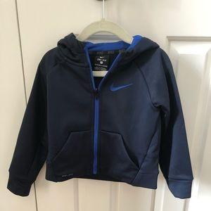 Toddler Nike Dri Fit Zip Up Hoodie Jacket